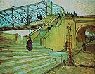The Trinquetaille Bridge Arles 1888 - Vincent van Gogh