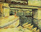 Seine Bridge near Asnieres 1887 - Vincent van Gogh