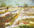 Landscape with Snow 1888 - Vincent van Gogh