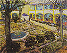 The Garden of the Hospital in Arles 1889 - Vincent van Gogh