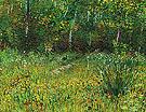 A Park in Spring 1887 - Vincent van Gogh