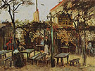 Terrace of the Cafe 1886 - Vincent van Gogh