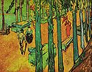 The Aliscamps at Arles 1888 - Vincent van Gogh
