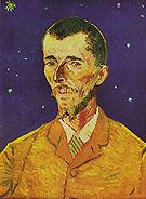 Portrait of Eugene Boch The Poet 1888 - Vincent van Gogh