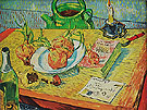 Still Life with Drawing Board Four Onions - Vincent van Gogh