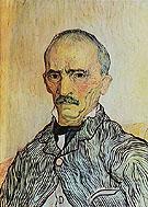 Portrait of Trabu Attendant at St Pauls Hospital 1889 - Vincent van Gogh
