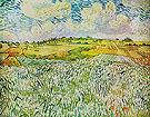 Landscape near Auvers Wheatfields 1890 - Vincent van Gogh