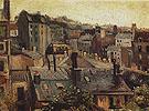Roofs in Paris 1886 - Vincent van Gogh