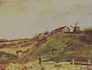 The Hill of Montmartre with Stone Quarry 1886 - Vincent van Gogh