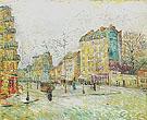 Boulevard de Clichy 1887 - Vincent van Gogh