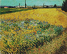 Wheatfield June 1888 - Vincent van Gogh