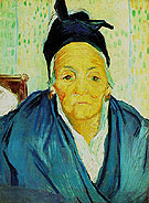 An Old Woman from Arles 1888 - Vincent van Gogh