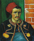 The Zouave June 1888 - Vincent van Gogh
