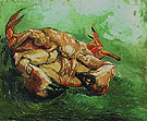 Crab on its Back winter 1888 - Vincent van Gogh