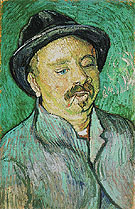 Portrait of a One Eyed Man 1888 - Vincent van Gogh