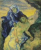 Pieta after Delacroix 1889 - Vincent van Gogh