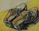 A Pair of Leather Clogs 1889 - Vincent van Gogh