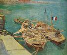 Unloading Sand 1888 - Vincent van Gogh