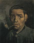 Head of a Man 1885 - Vincent van Gogh