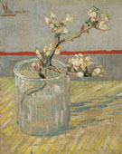 Spring of Flowering Almond Blossom in a Glass 1888 - Vincent van Gogh