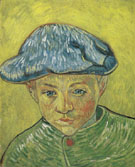 Portrait of Camilk Roulin 1888 - Vincent van Gogh