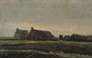 Farmhouse near Hoogeveen 1883 - Vincent van Gogh