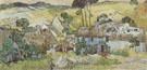 Farms near Auvers 1890 - Vincent van Gogh