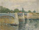 The Saine with the Pont de la Grande Jatte Summer 1887 - Vincent van Gogh