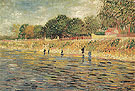 Banks of the Seine 1887 - Vincent van Gogh