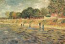 Banks of the Seine 1887 - Vincent van Gogh