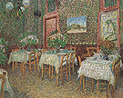 Interior of a Restaurant 1887 - Vincent van Gogh