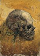 A Skull c1887 - Vincent van Gogh