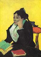 Madame Ginoux 1988 - Vincent van Gogh