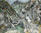 Ravine 1889 - Vincent van Gogh