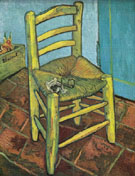 The Yellow Chair c1888 - Vincent van Gogh