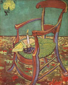 Gauguins Chair 1888 - Vincent van Gogh