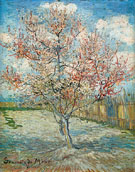 Pink Peach Tree in Blossom 1888 - Vincent van Gogh