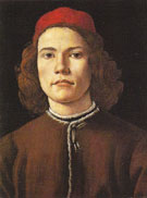 Portrait of a Young Man c1485 - Botticelli