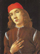 Portrait of a Young Man c1489 - Botticelli