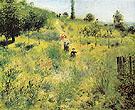 Country Footpath in the Summer 1874 - Pierre Auguste Renoir