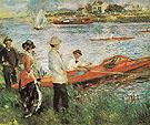 Oarsmen at Chatou 1879 - Pierre Auguste Renoir