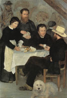 At the Inn of Mother Anthony 1866 - Pierre Auguste Renoir