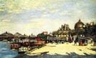 The Pont des Arts Paris c1867 - Pierre Auguste Renoir