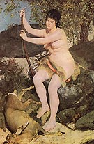 Diana 1867 - Pierre Auguste Renoir