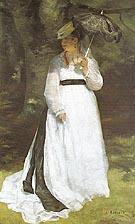 Portrait of Lise 1867 - Pierre Auguste Renoir