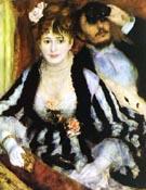 La Loge  1874 - Pierre Auguste Renoir