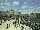 The Pont Neuf 1872 - Pierre Auguste Renoir