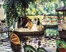 La Grenouillere 1869 - Pierre Auguste Renoir