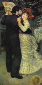 Dance in the Country c1882 - Pierre Auguste Renoir