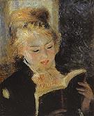 The Reader c1874 - Pierre Auguste Renoir